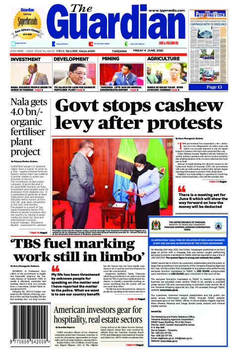 Govt stops cashew levy after protests | The Guardian