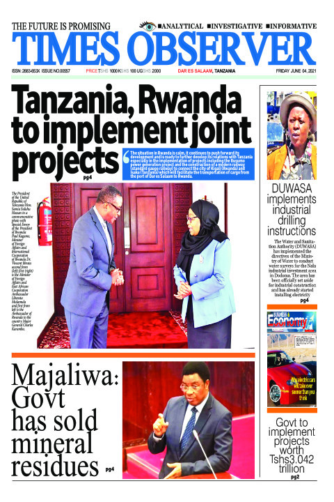 Tanzania, Rwanda to implement joint projects | Times Observer