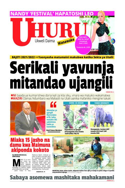 Serikali yavunja mitandao ujangili | Uhuru