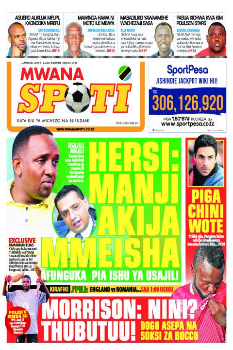 HERSI: MANJI AKIJA MMEISHA  | Mwanaspoti