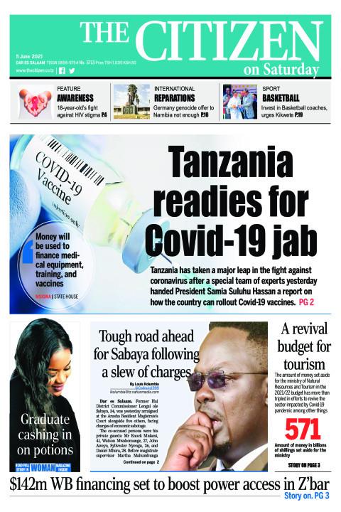 TANZANIA READIES FOR COVID-19 JAB  | The Citizen