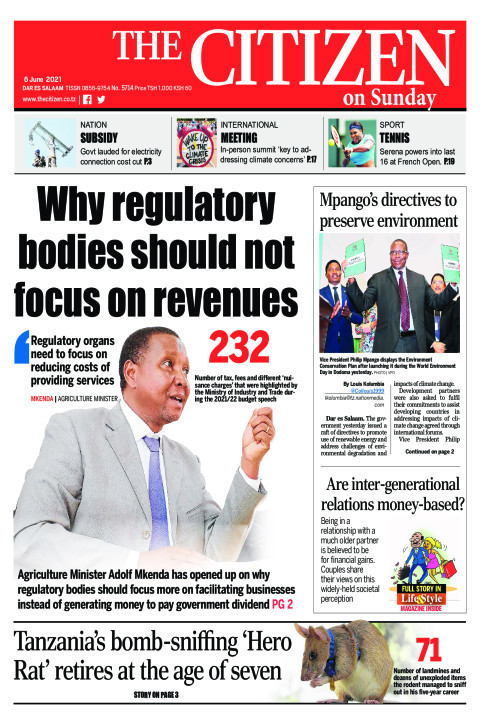 WHY REGULATORY BODIES SHOULD NOT FOCUS ON REVENUES  | The Citizen