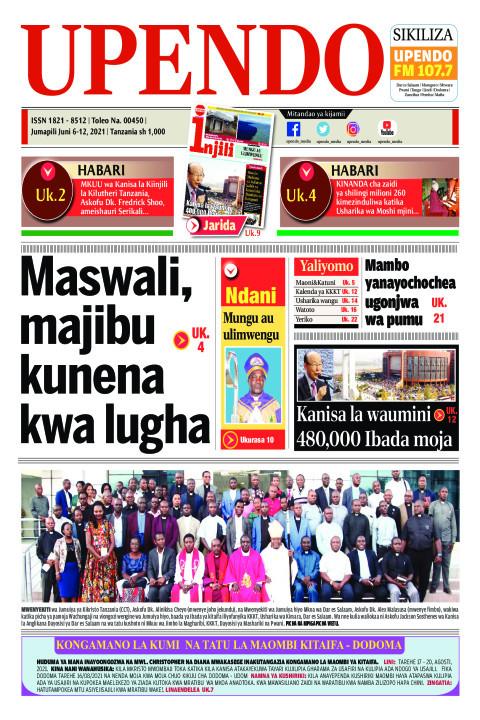Maswali, majibu kunena kwa lugha | Upendo