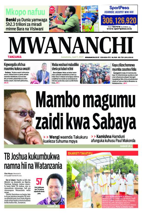 MAMBO MAGUMU ZAIDI KWA SABAYA  | Mwananchi