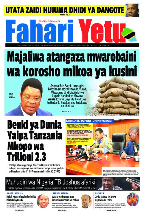 Majaliwa atangaza mwarobaini wa korosho mikoa ya kusini | Fahari Yetu