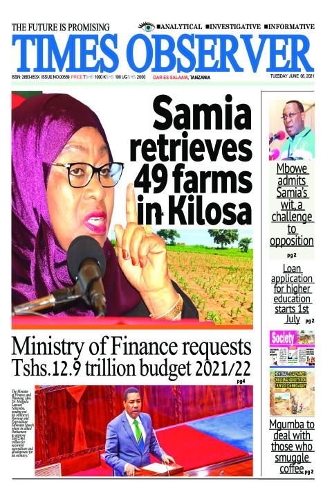 Samia retrieves 49 farms in Kilosa | Times Observer