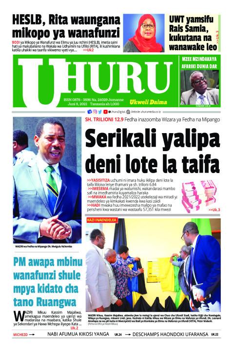 Serikali yalipa deni lote la taifa | Uhuru