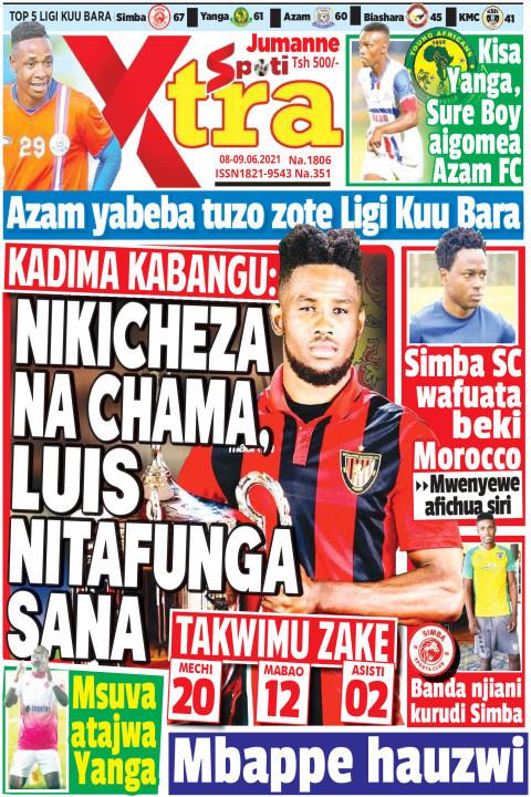 NIKICHEZA NA CHAMA, LUIS NITAFUNGA | SpotiXtra Jumanne