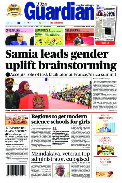 Samia leads gender uplift brainstorming | The Guardian