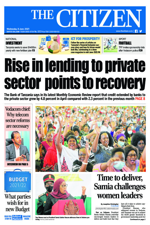 RISE IN LENDING TO PRIVATE SECTOR POINTS TO RECOVERY  | The Citizen