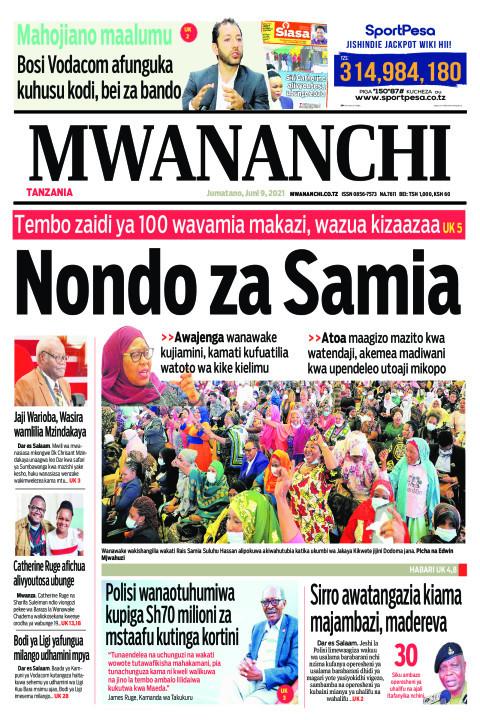 NONDO ZA SAMIA  | Mwananchi