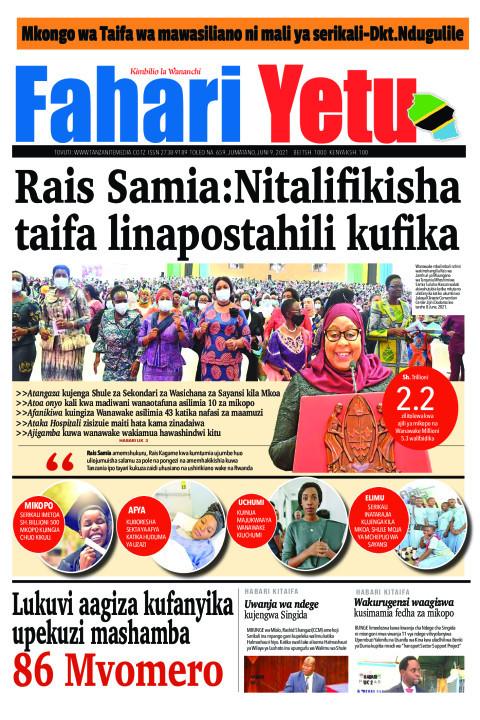Rais Samia:Nitalifikisha taifa linapostahili kufika | Fahari Yetu