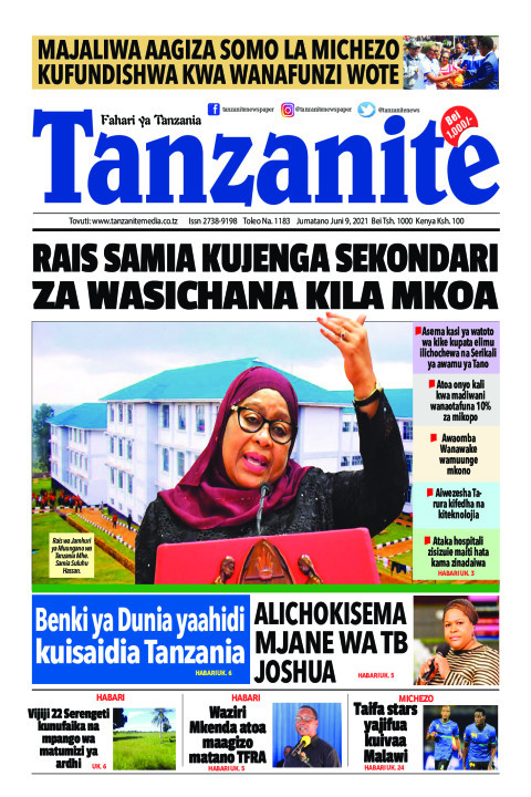 RAIS SAMIA KUJENGA SEKONDARI ZA WASICHANA KILA MKOA | Tanzanite