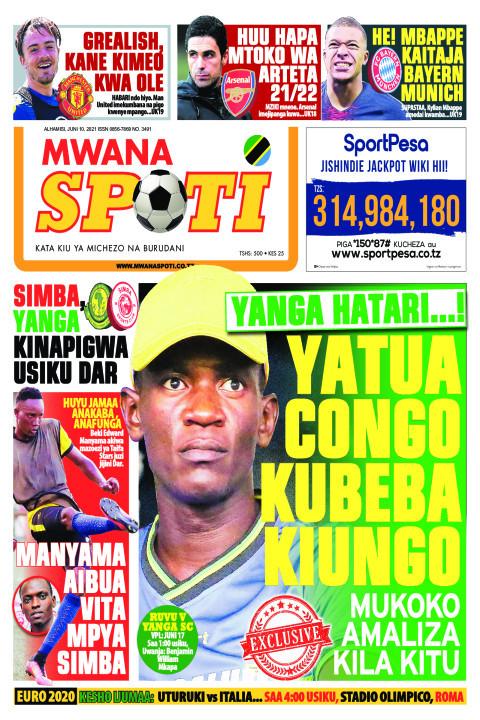 YANGA HATARI....! YATUA CONGO KUBEBA KIUNGO  | Mwanaspoti