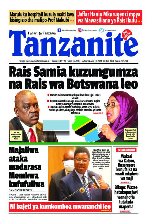 Rais Samia kuzungumza na Rais wa Botswana leo | Tanzanite
