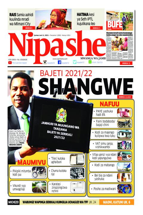 SHANGWE | Nipashe