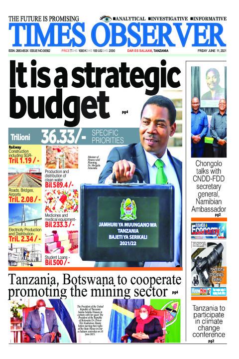 It is a strategic budget | Times Observer