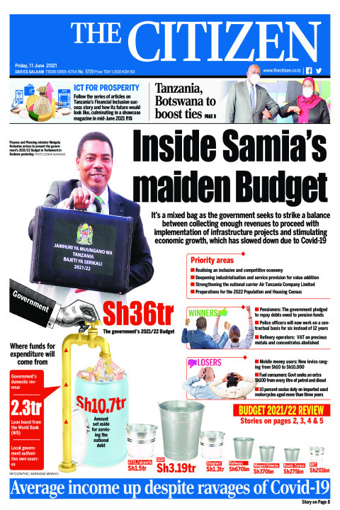 INSIDE SAMIA'S MAIDEN BUDGET  | The Citizen