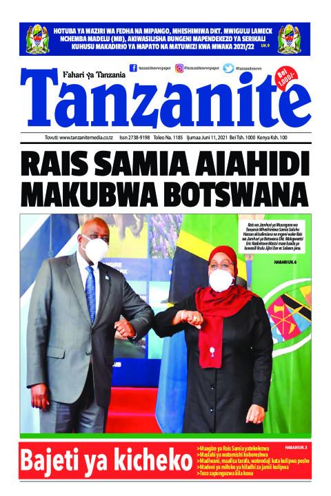 RAIS SAMIA AIAHIDI MAKUBWA BOTSWANA | Tanzanite