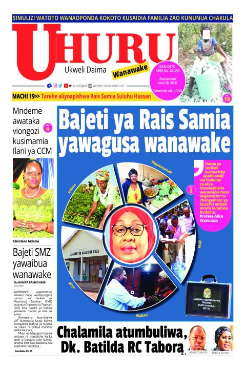 Bajeti ya Rais Samia yawagusa wanawake | Uhuru
