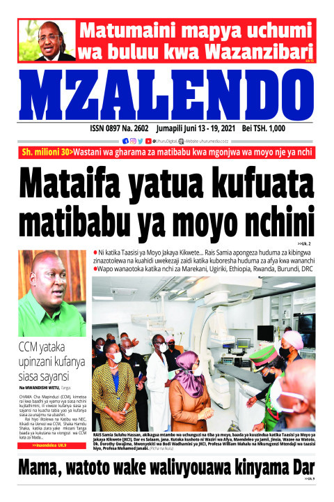 Mataifa yatua kufuata matibabu ya moyo nchini | Mzalendo