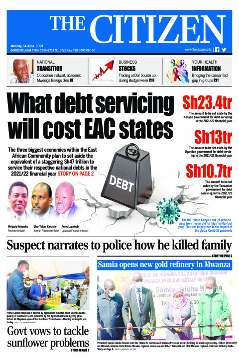 WHAT DEBT SERVICING WILL COST EAC STATES  | The Citizen
