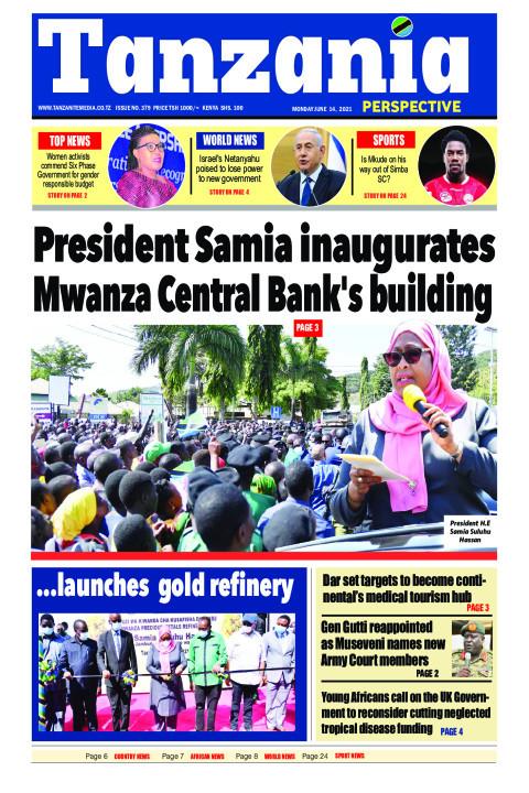 President Samia inaugurates Mwanza Central Bank's building | Tanzania Perspective