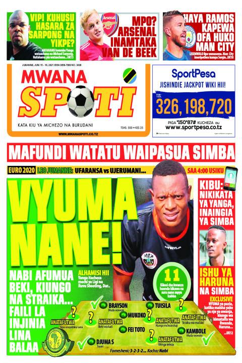 VYUMA NANE!  | Mwanaspoti