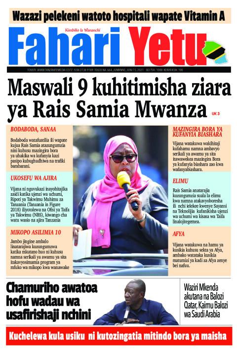 Maswali 9 kuhitimisha ziara ya Rais Samia Mwanza | Fahari Yetu