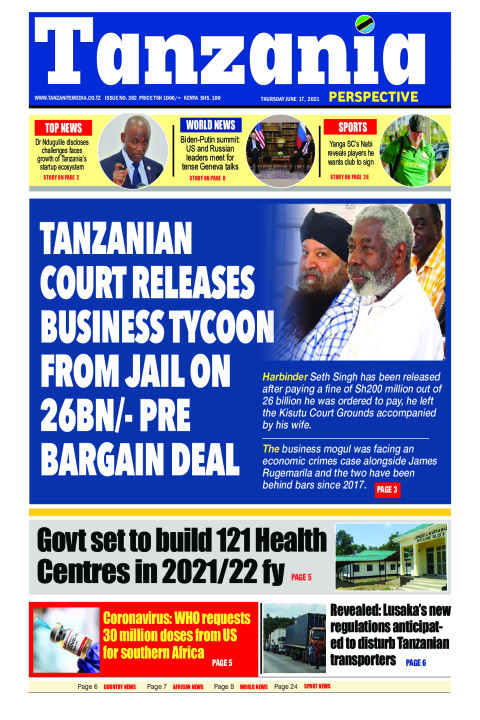 TANZANIAN COURT RELEASES BUSINESS TYCOON FROM JAIL ON 26BN/- | Tanzania Perspective