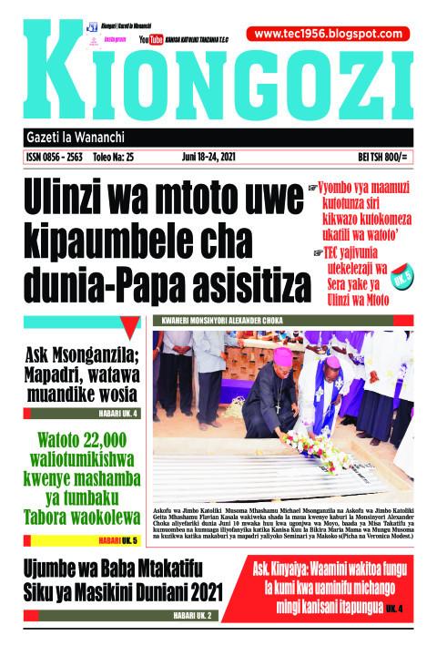 Ulinzi wa mtoto uwe kipaumbele cha dunia-Papa asisitiza | Kiongozi