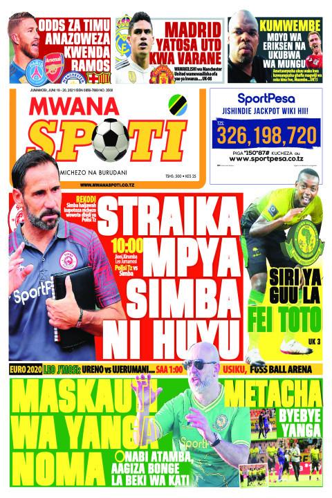 STRAIKA MPYA SIMBA NI HUYU  | Mwanaspoti
