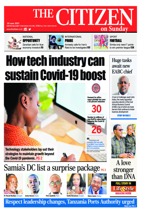HOW TECH INDUSTRY CAN SUSTAIN COVID-19 BOOST  | The Citizen