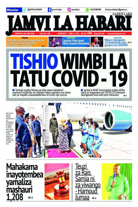 Tishio wimbi la tatu Covid - 19 | Jamvi La Habari