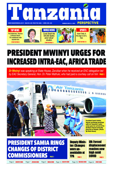 PRESIDENT MWINYI URGES FOR INCREASED INTRA-EAC, AFRICA TRAD | Tanzania Perspective