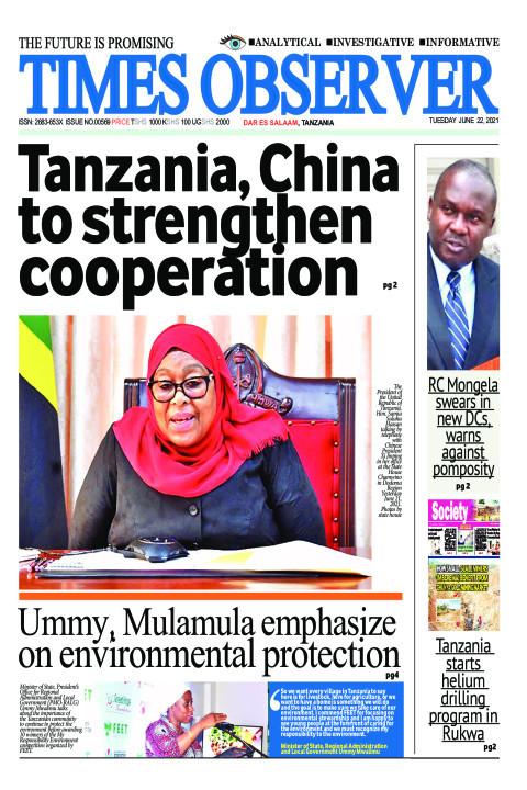 Tanzania, China to strengthen cooperation | Times Observer