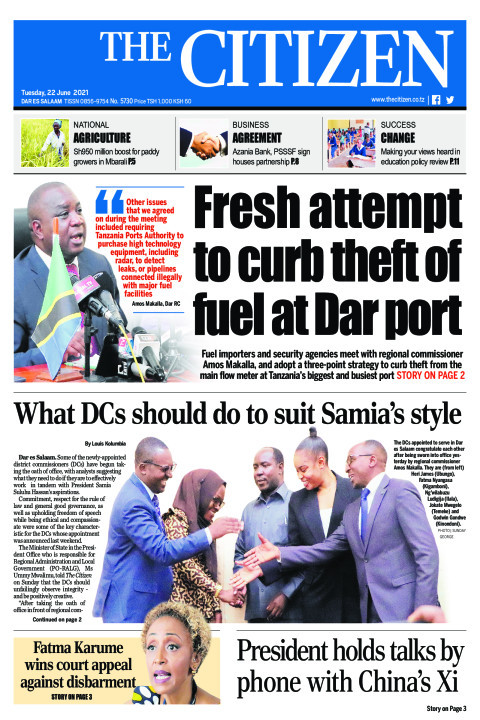 FRESH ATTEMPT TO CURB THEFT OF FUEL AT DAR PORT  | The Citizen