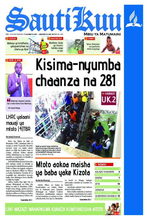 Kisima nyumba chaanza na 281 | Sauti Kuu Newspaper