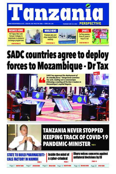SADC countries agree to deploy forces to Mozambique - Dr Ta | Tanzania Perspective