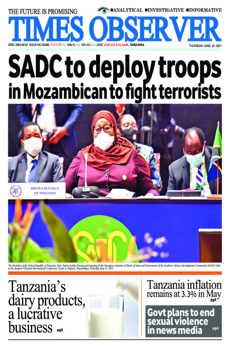 SADC to deploy troops in Mozambican to fight terrorists | Times Observer