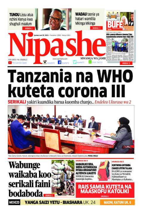 Tanzania  na WHO kutetea corona III | Nipashe