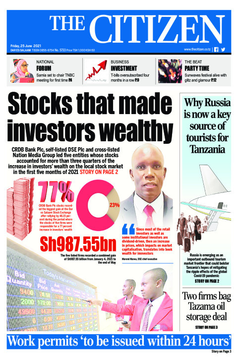 STOCKS THAT MADE INVESTORS WEALTHY  | The Citizen