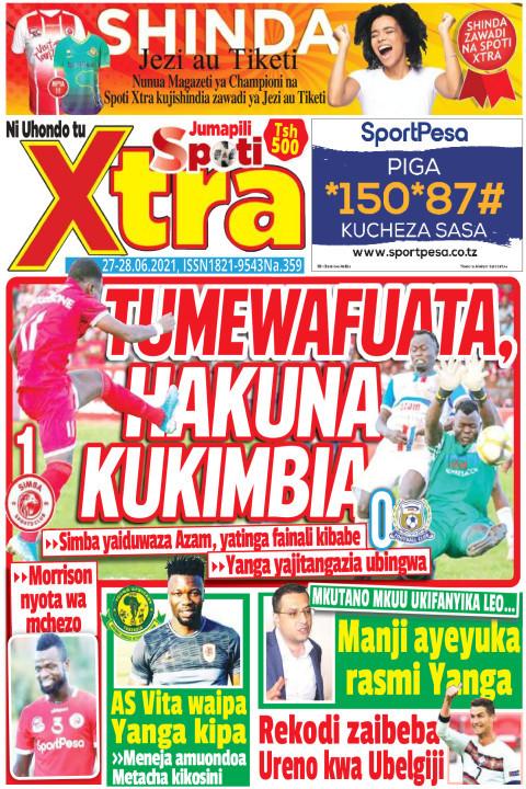 TUMEWAFUATA HAKUNA KUKIMBIA | SpotiXtra Jumapili