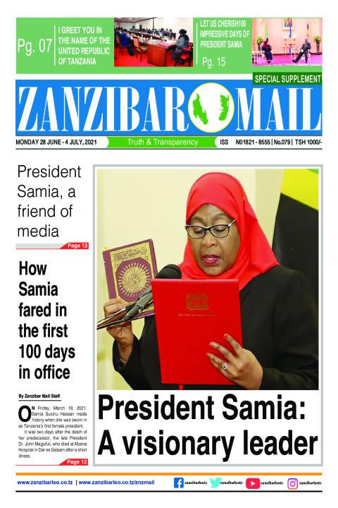 President Samia: A visionary leader  | ZANZIBAR MAIL