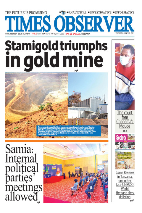 Stamigold triumphs in gold mine | Times Observer