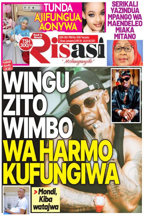 WINGU ZITO WIMBO WA HARMO KUFUNGIWA | Risasi Mchanganyiko