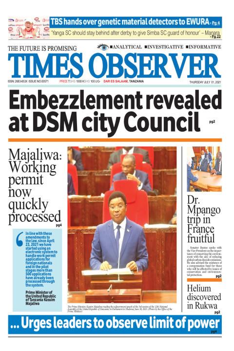 Embezzlement revealed at DSM city Council | Times Observer
