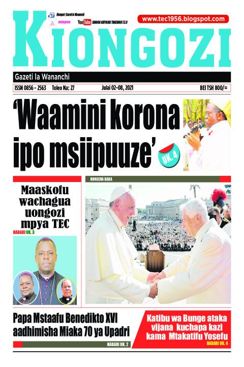Waamini korona ipo msiipuuze | Kiongozi