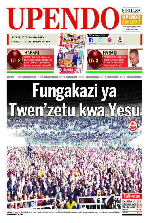 Fungakazi ya Twen'zetu kwa Yesu | Upendo