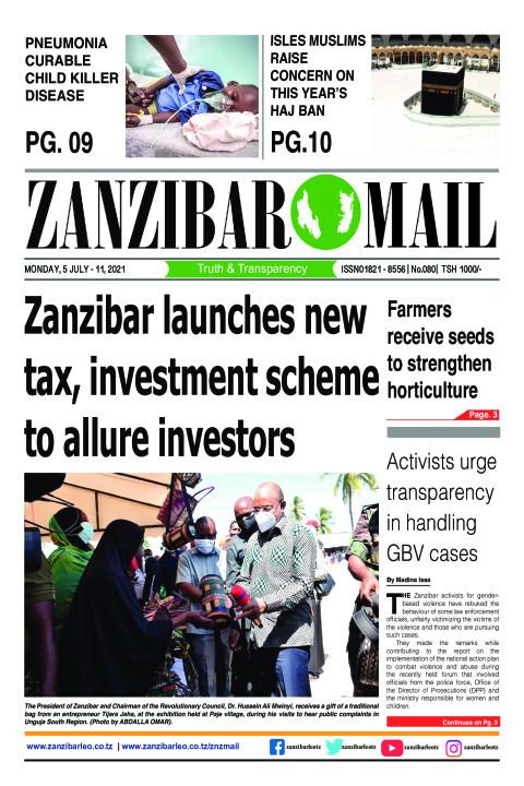Zanzibar launches new tax, investment scheme to allure inv | ZANZIBAR MAIL